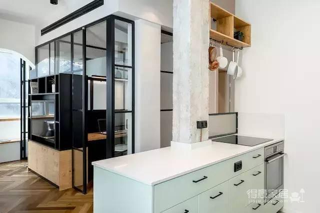 58㎡公寓如何同时满足工作与生活?!图_3