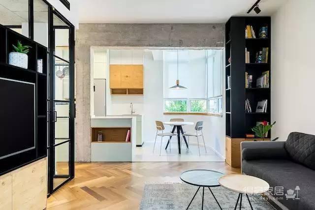 58㎡公寓如何同时满足工作与生活?!图_6