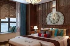 香格里拉 160平方 东南亚风格私人住宅图_3