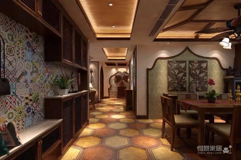 香格里拉 160平方 东南亚风格私人住宅