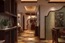 香格里拉 160平方 东南亚风格私人住宅图_5