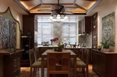 香格里拉 160平方 东南亚风格私人住宅图_2