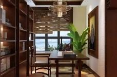 香格里拉 160平方 东南亚风格私人住宅图_4