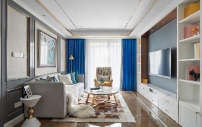 现代美式,精致,清新,舒适的家!