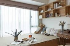 106平米北欧与日式的自然清新家!图_9