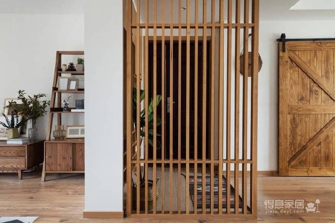 106平米北欧与日式的自然清新家!