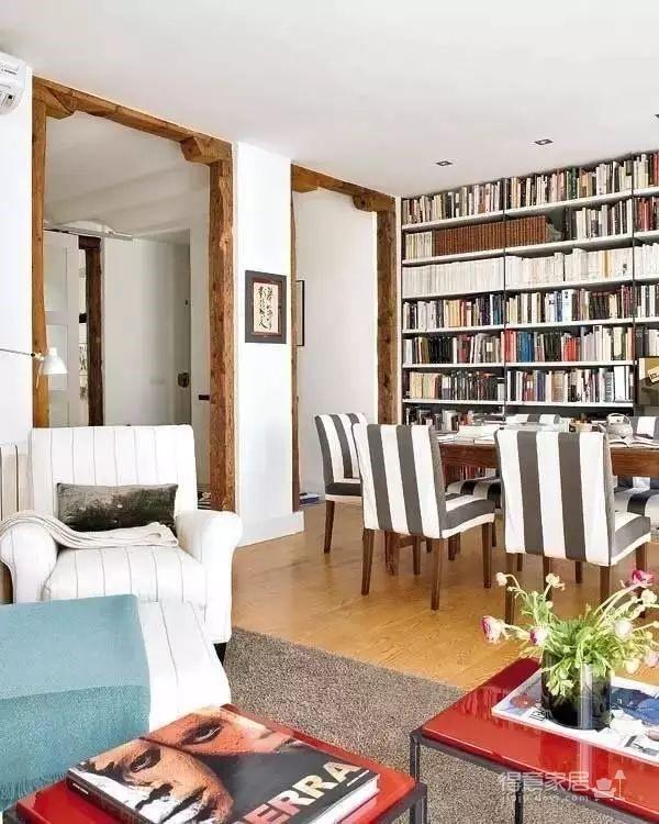 80㎡混搭二居室装修,爱书的人不能错过!图_10
