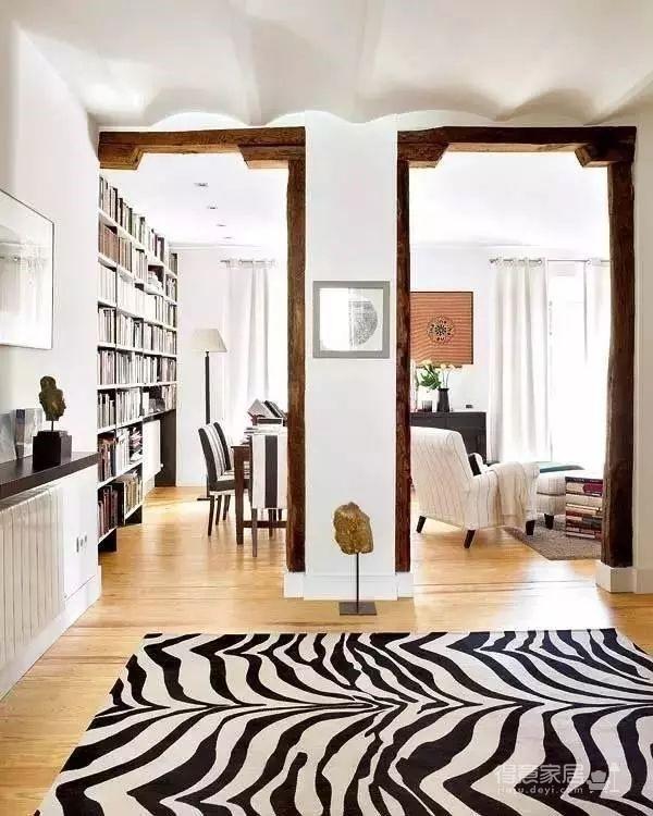 80㎡混搭二居室装修,爱书的人不能错过!图_3