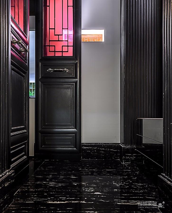 思丽室内设计作品——极具东方美学的设计师办公空间图_2