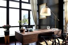思丽室内设计作品——极具东方美学的设计师办公空间图_7