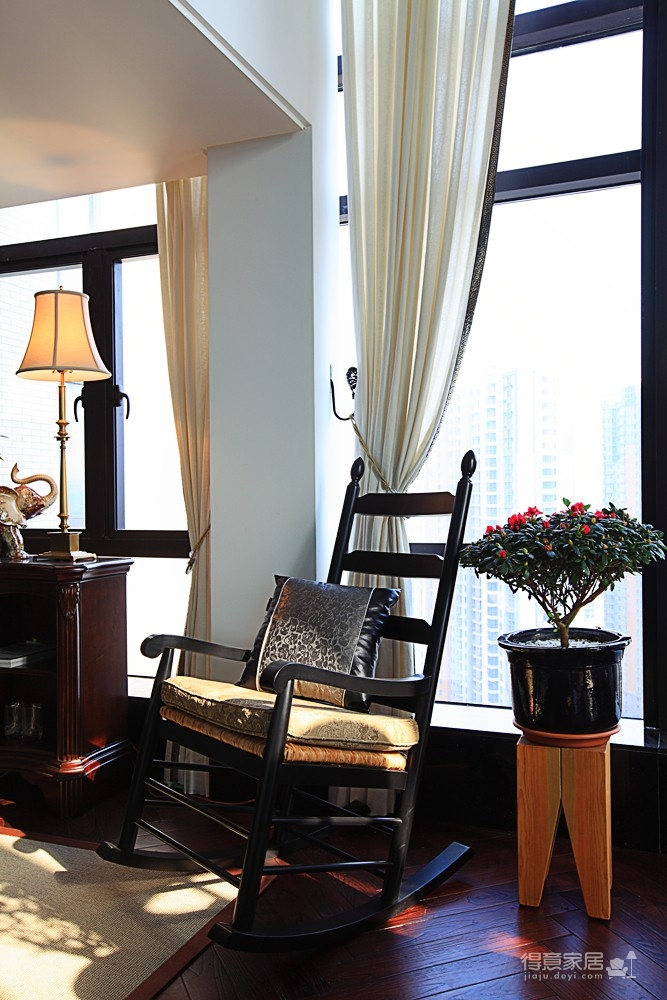 思丽室内设计作品——极具东方美学的设计师办公空间图_12