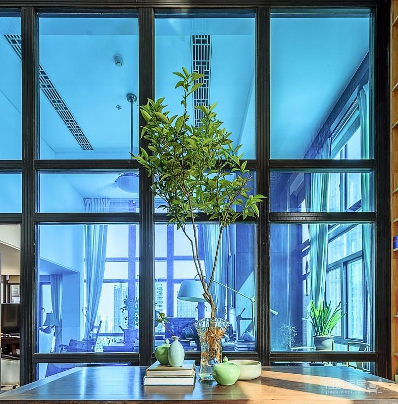 思丽室内设计作品——极具东方美学的设计师办公空间图_1