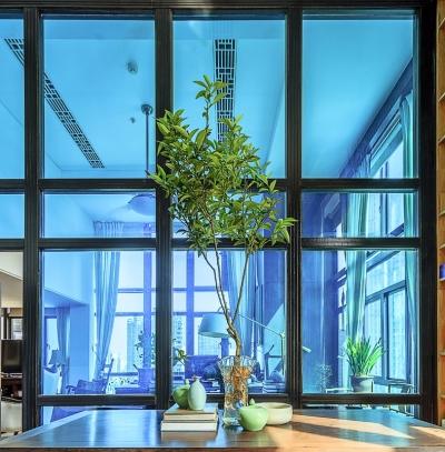 思丽室内设计作品——极具东方美学的设计师办公空间