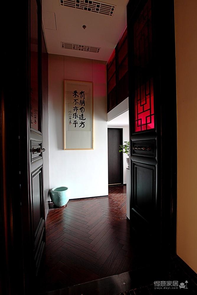 思丽室内设计作品——极具东方美学的设计师办公空间图_4