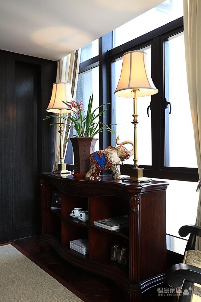 思丽室内设计作品——极具东方美学的设计师办公空间图_11