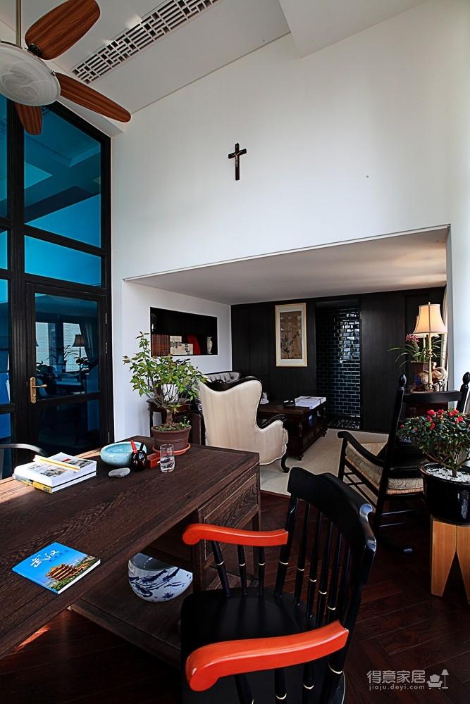思丽室内设计作品——极具东方美学的设计师办公空间图_10