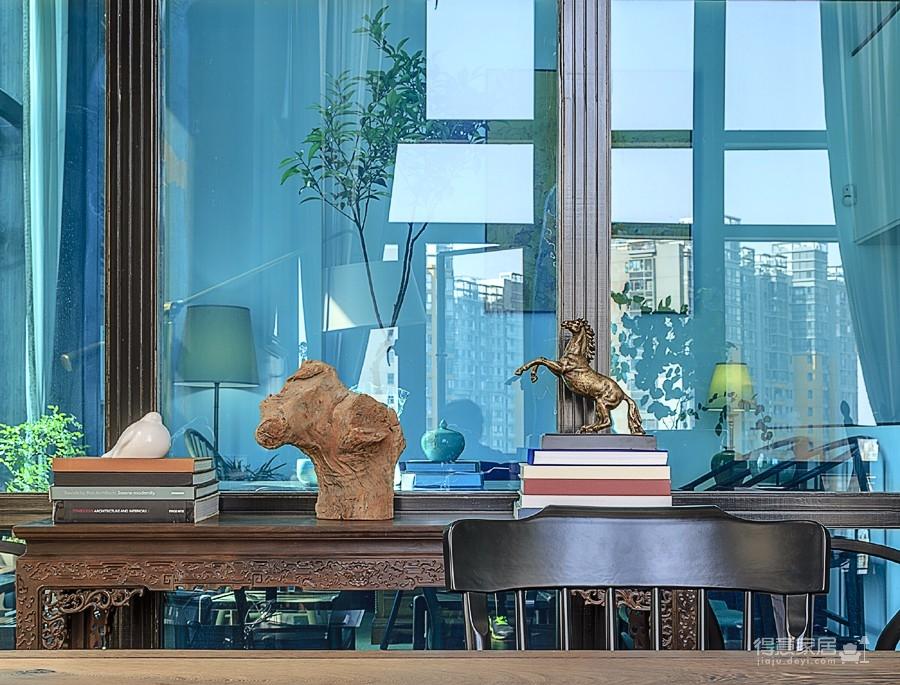 思丽室内设计作品——极具东方美学的设计师办公空间图_8