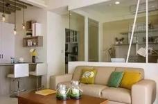 90㎡美式两居室装修,迎接立夏的明媚阳光!图_2
