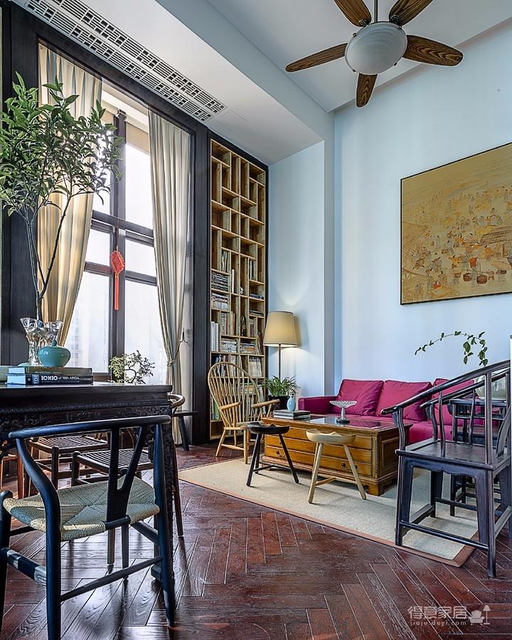 思丽室内设计作品——极具东方美学的设计师办公空间图_6