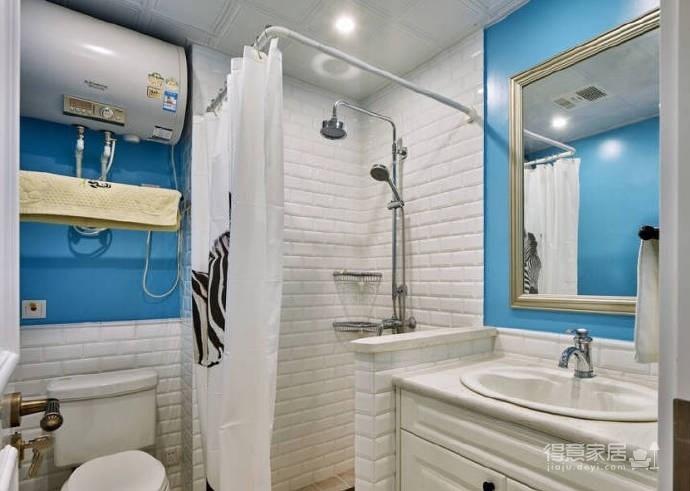 98㎡美式风格二居室,非常具有生活品味的住宅空间!