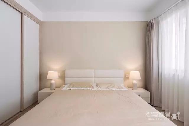 万豪国际 145平方 和风 简约三居室 恬静淡雅图_4