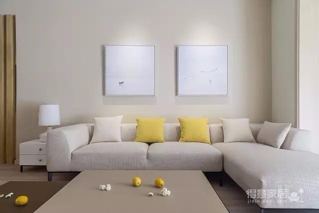 万豪国际 145平方 和风 简约三居室 恬静淡雅图_2