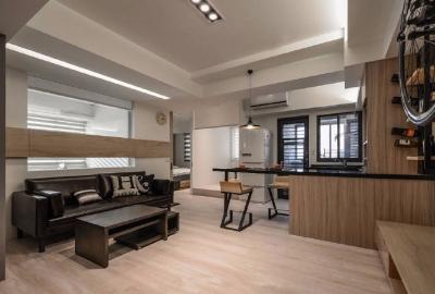 60平方单身公寓 现代简洁风格