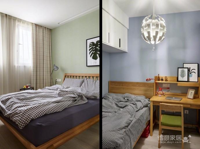 华城新都 70平方 宜家原木风格两居室