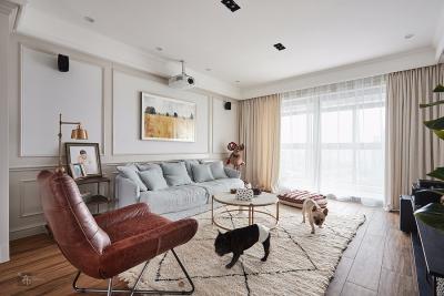 135平复古风住宅,温暖了时光惊艳了岁月