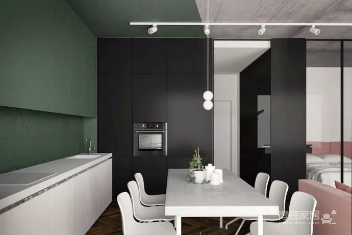 50平方 工业风LOFT 完美的一居室图_7