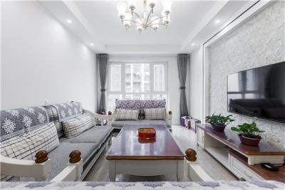 100平三居室现代风格