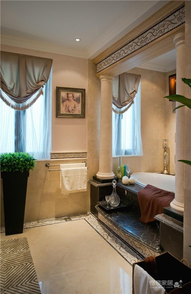 240㎡别墅法式风格,自然主义的浪漫空间