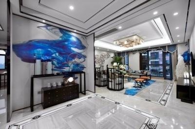 碧桂园 270平方 轻奢新中式风格