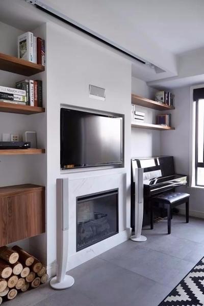 美林青城 85平方两室两厅 现代北欧风