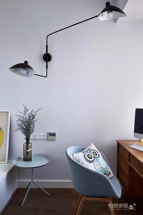 美林青城 85平方两室两厅 现代北欧风图_3