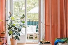 30㎡单身公寓设计,小而美的粉色蜗居图_4