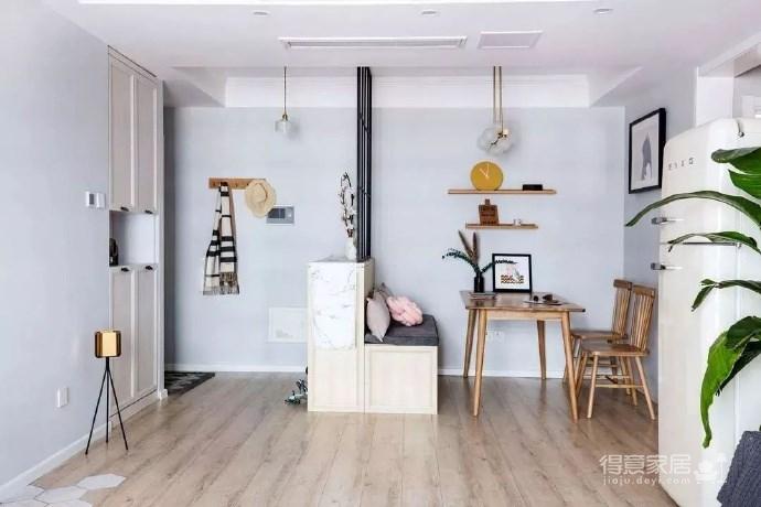 小夫妻79㎡婚房,温馨舒适,最具特色的小户型案例!图_1