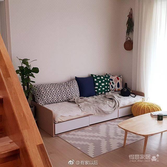 韩式ins风卧室,没有韩剧人生,我还不能有个韩式卧室吗?图_4