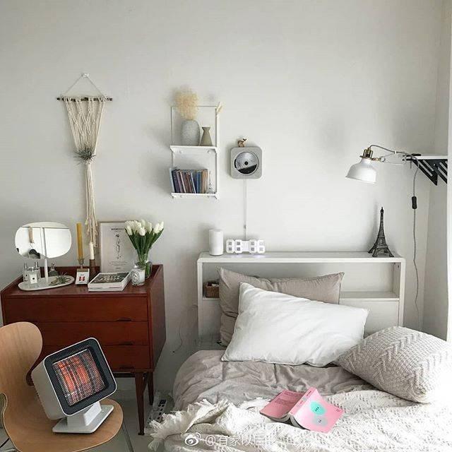 韩式ins风卧室,没有韩剧人生,我还不能有个韩式卧室吗?图_6