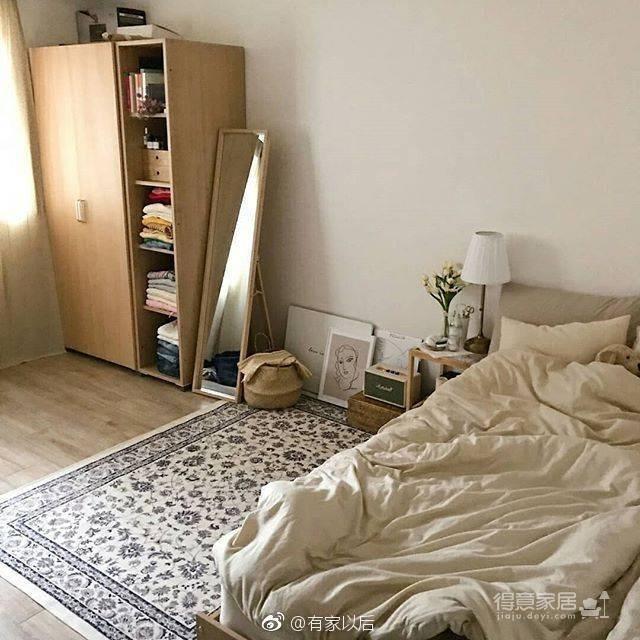韩式ins风卧室,没有韩剧人生,我还不能有个韩式卧室吗?图_3