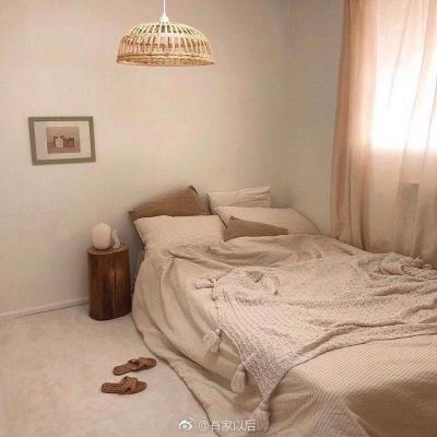 韩式ins风卧室,没有韩剧人生,我还不能有个韩式卧室吗?