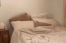 韩式ins风卧室,没有韩剧人生,我还不能有个韩式卧室吗?图_1