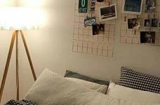 韩式ins风卧室,没有韩剧人生,我还不能有个韩式卧室吗?图_9