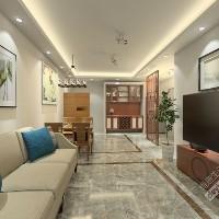 【奥山怡芳苑】89㎡ 两室两厅现代风,整装开