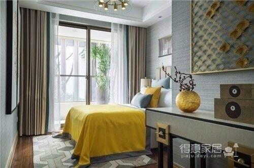 常青南园 新中式风格 130平方 现代中式元素图_5