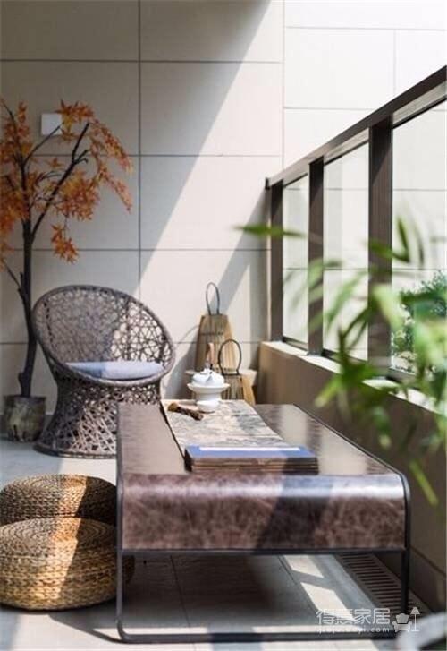 常青南园 新中式风格 130平方 现代中式元素图_9