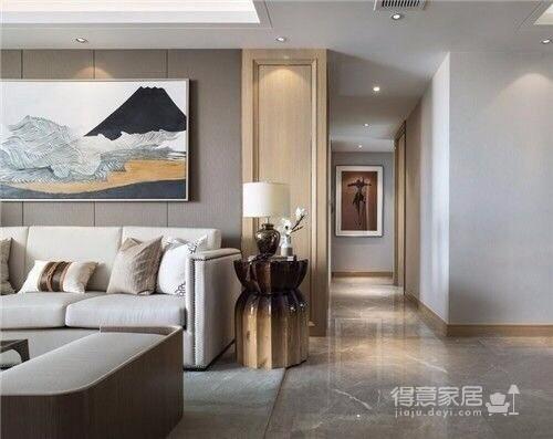 常青南园 新中式风格 130平方 现代中式元素图_2