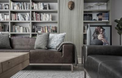 台式简约风格家居设计,超级性冷淡!