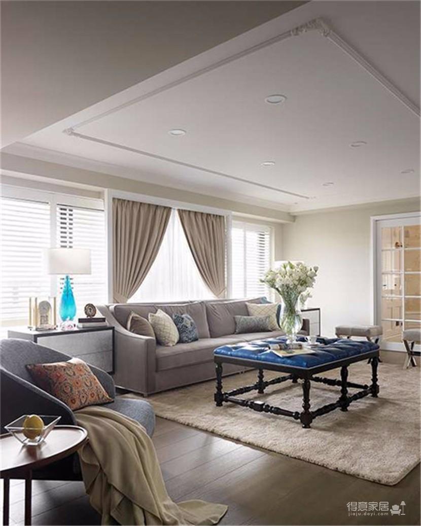 柔色暖意 优雅美式古典宅