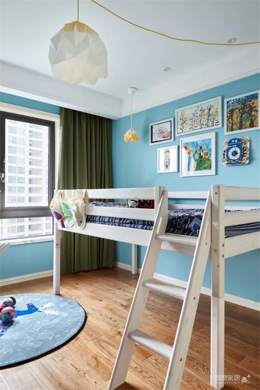 简约美式,营造现代舒适空间氛围